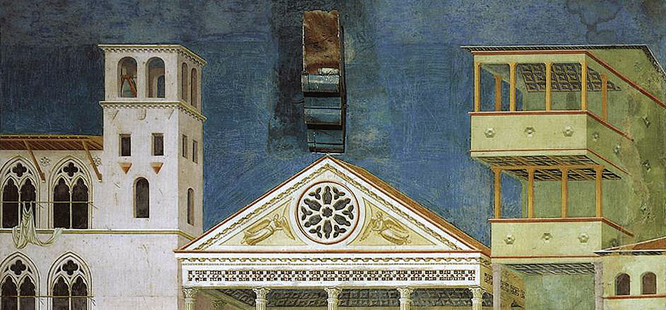 Giotto di Bondone, Basilique Assise, Homage of a Simple Man
