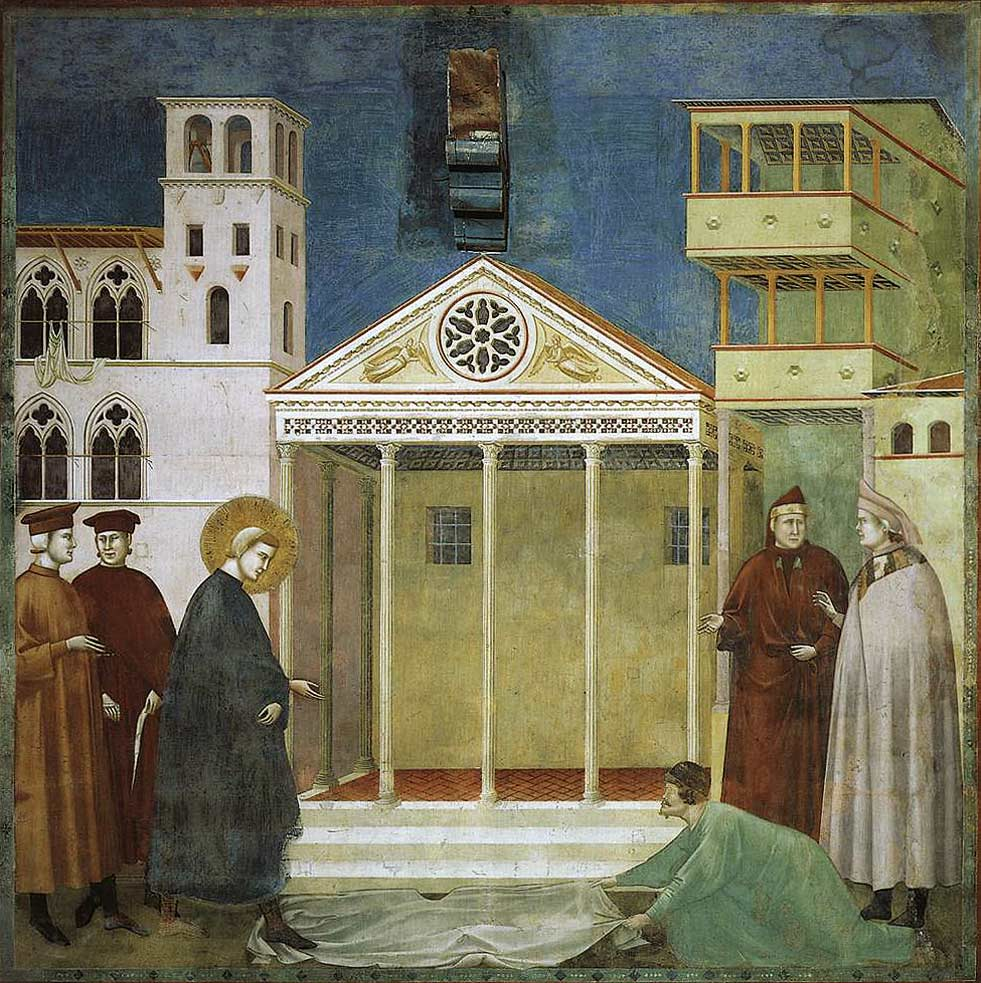 Giotto-Legend-of-St-Francis-Homage-of-a-Simple-Man