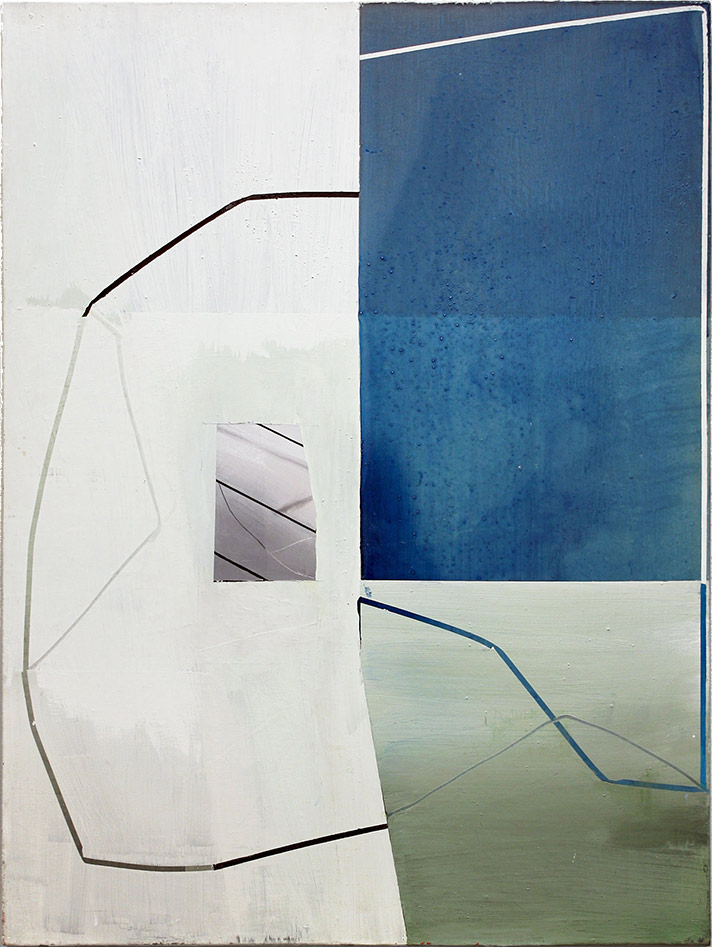 © Gordon Moore 'Fragment (with-blue)', 2013