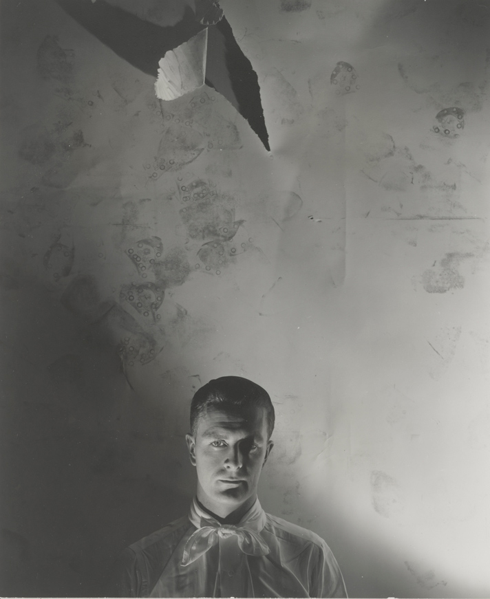 George Platt Lynes, <em>Portrait of Thomas Bacon<em>, ca. 1938, gelatin silver print © Estate of George Platt Lynes. Courtesy of Bowdoin College Museum of Art, Brunswick, Maine