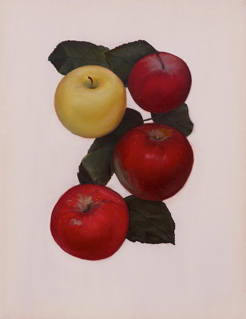 © Jen Mazza 'Untitled (4 Apples)', 2014