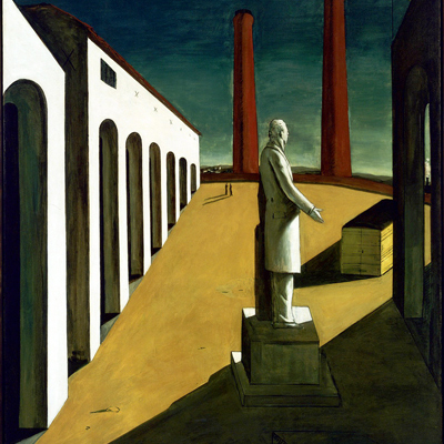 The Artist as Blind Seer: A New Perspective on de Chirico